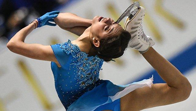 Россиянка Евгения Медведева установила мировой рекорд накомандномЧМ пофигурному катанию