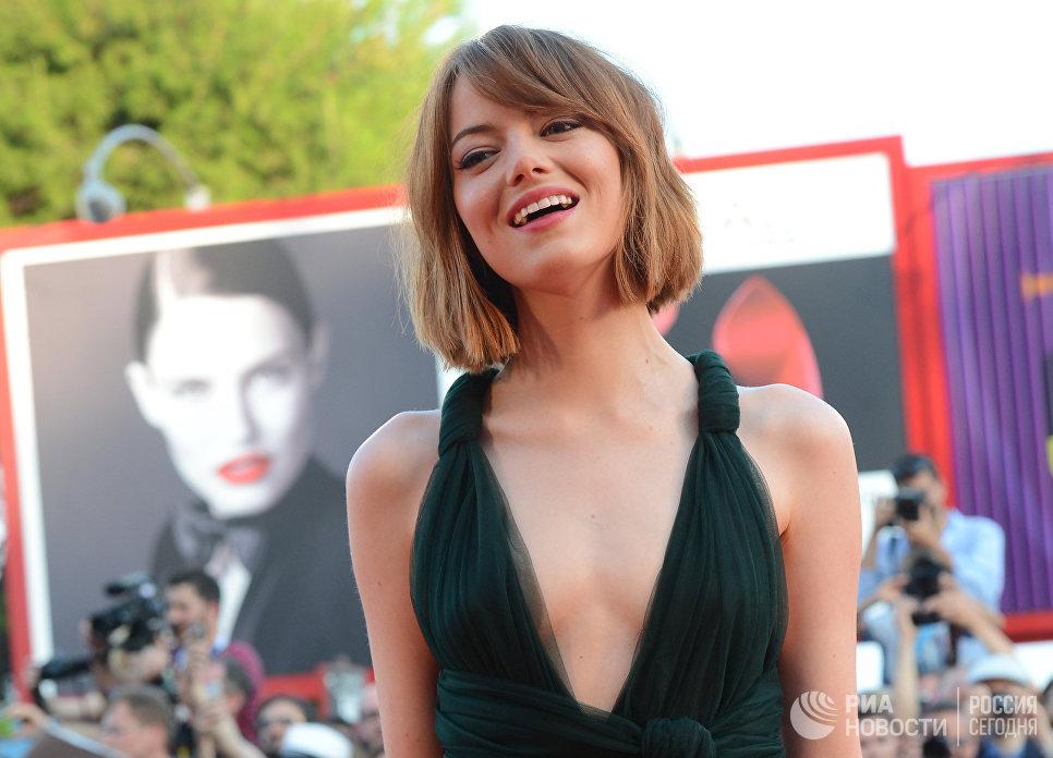 Американская актриса Эмма Стоун