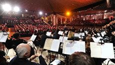 Концерт в храме Христа Спасителя. Архивное фото