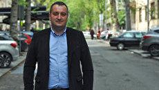 Директор Российско-сербского гуманитарного центра Боян Гламочлия. Архив