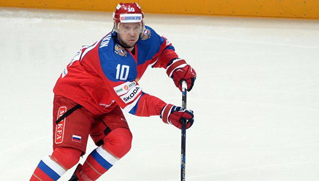 Русские хоккеисты проиграли шведам наЧешских хоккейных играх