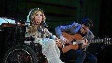 Юлия Самойлова приняла участие в концерте. Архивное фото
