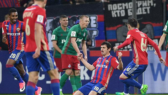 ЦСКА разгромил «Локомотив» ипродолжил погоню за«Спартаком»