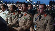 Военнослужащие Саудовской Аравии на VI Московской конференции по международной безопасности. 26 апреля 2017
