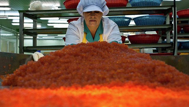 Цех по производству красной икры