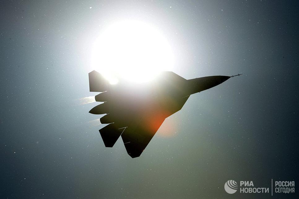 Истребитель ПАК ФА Т-50