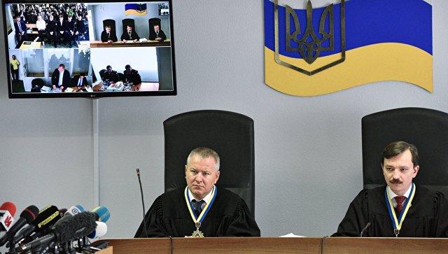 Обвинение потребует пожизненного срока для Януковича поделу огосизмене
