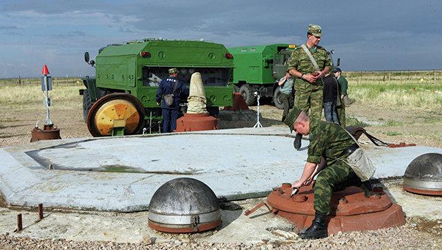 Подготовка к запуску ракеты РС-20 (Воевода). Архивное фото