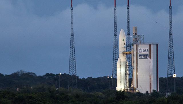 Русский «Союз» доставил наорбиту европейский спутник