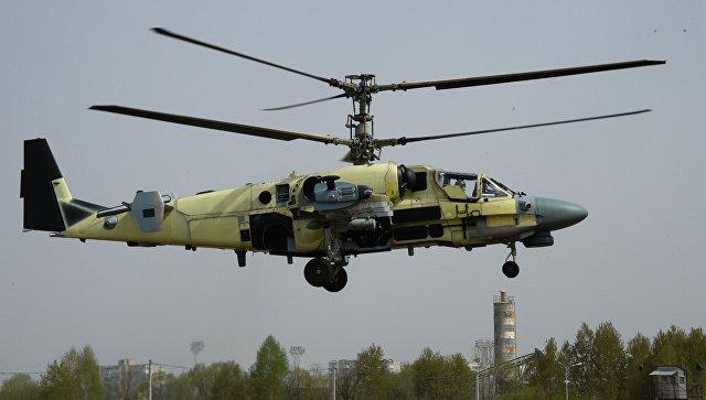 В этом 2017 году Минобороны будет поставлено 14 вертолетов Ка-52