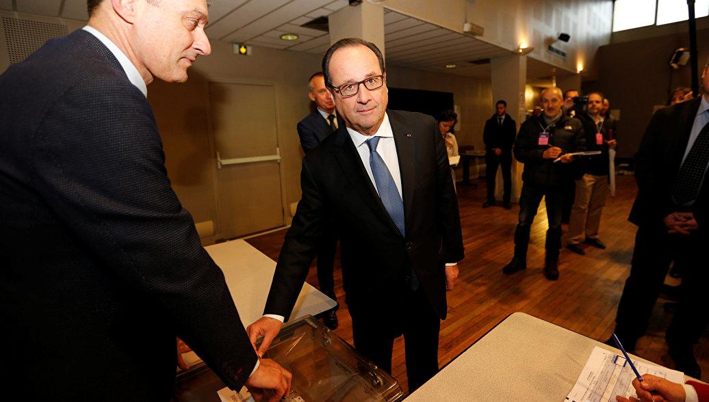 Франсуа Олланд проголосовал на выборах президента - РИА ...: https://ria.ru/world/20170507/1493824882.html