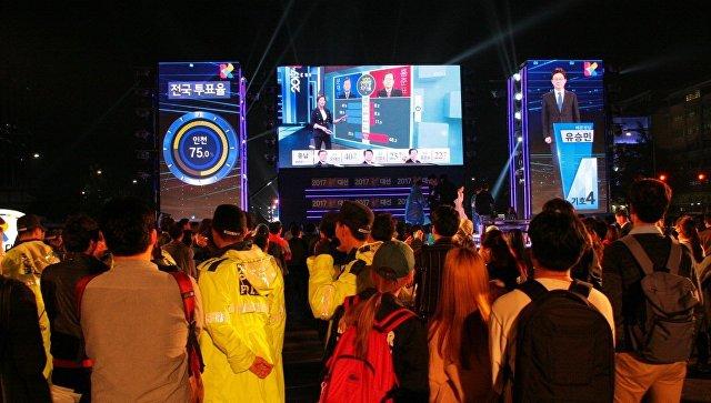 ВЮжной Корее стартовали досрочные президентские выборы