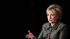Американский политик, член Демократической партии Хиллари Клинтон. Архивное фото