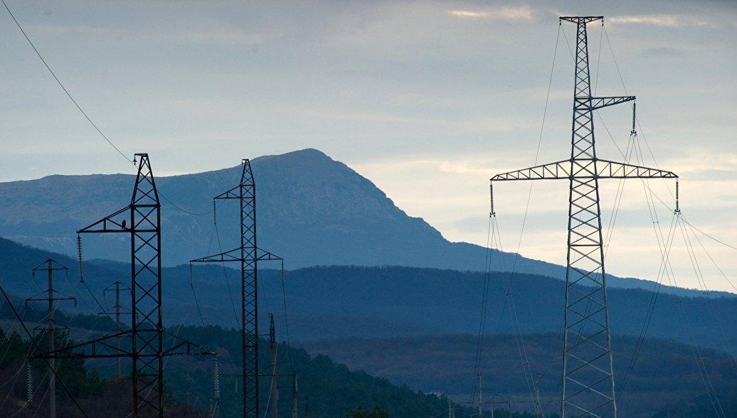 Киев заявил о восстановлении электроснабжения Крыма