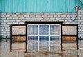 Частный дом в городе Ишим Тюменской области, подтопленный в результате сильного поднятия воды в реках Ишим и Карасуль