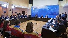 Дмитрий Медведев проводит совещание по подготовке спортивных сборных команд России в Новогорске. 12 мая 2017