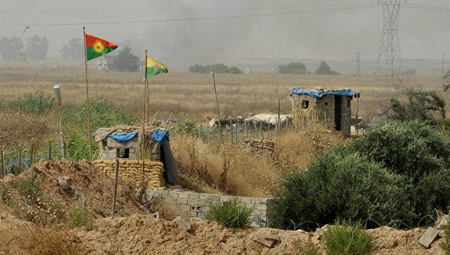 Блокпост Рабочей партии Курдистана. Архивное фото