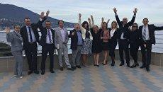 Участники VIII конференции Альянса туристических агентств (АТА) Актуальные вопросы внутреннего туризма в Ялте