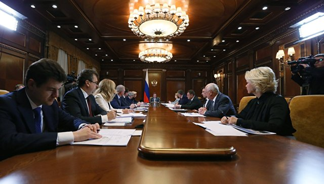 Насовещании у премьера Дмитрия Медведева обсуждался вопрос возведения перинатальных центров