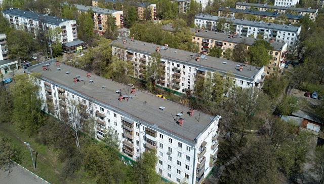 Пятиэтажные жилые дома в районе Коптево в Москве. Архивное фото