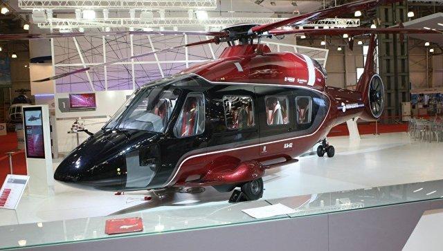Вертолет Ка-62 на авиасалоне в Фарнборо, Великобритания. Архивное фото