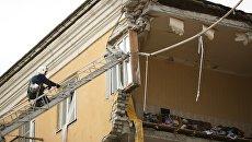 На месте взрыва бытового газа в жилом доме в Волгограде