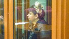 Светлана Степенько во время приговора. 17 мая 2017