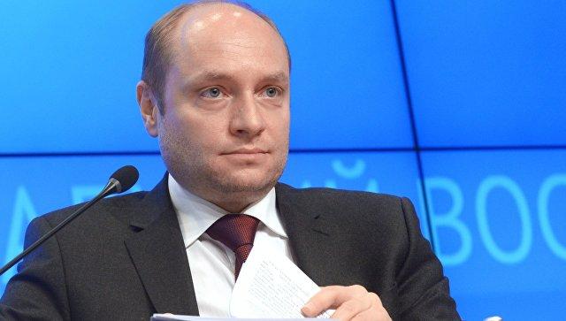 Александр Галушка во время заседания коллегии министерства РФ по развитию Дальнего Востока. 18 мая 2017