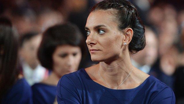 Двукратная олимпийская чемпионка, заслуженный мастер спорта России по легкой атлетике Елена Исинбаева. Архивное фото
