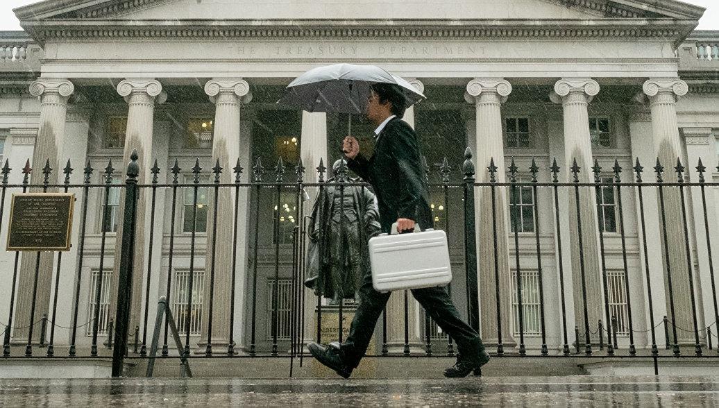 Россия сократила в феврале объем резервов в гособлигациях США на 8,9 миллиарда долларов