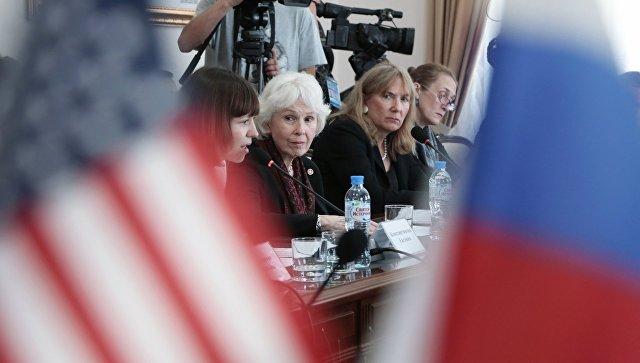 Руководитель делегации США вКрыму спрогнозировала снятие санкций сполуострова