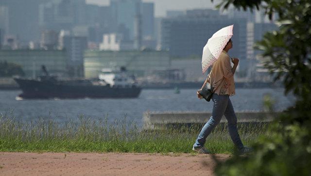 В Японии пять человек погибли за сутки из-за жары