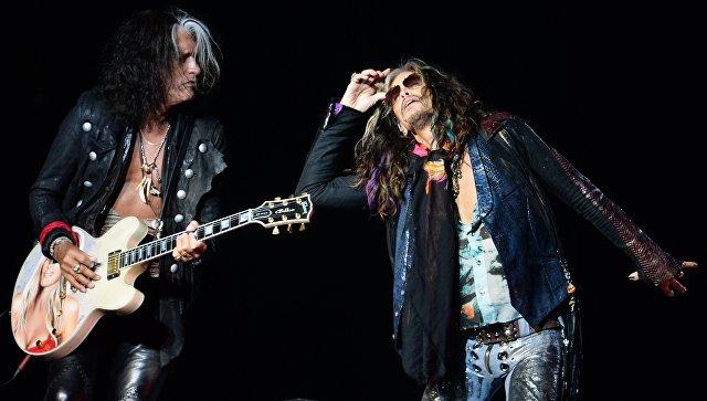 Легенда рока, группа Aerosmith даст концерт в столице России 23мая