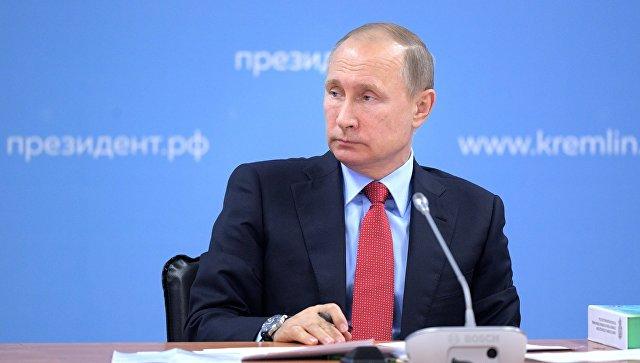 Путин заявил о необходимости формировать нетерпимое отношение к допингу
