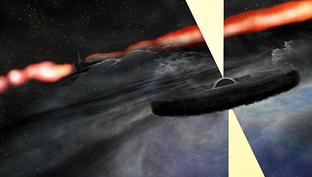 Ученые случайно обнаружили вторую черную дыру вневидимой галактике