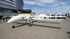 Беспилотный летательный аппарат BELAR YS-EX на выставке вооружений MILEX-2017