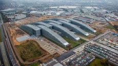 Здание новой штаб-квартиры НАТО в Брюсселе
