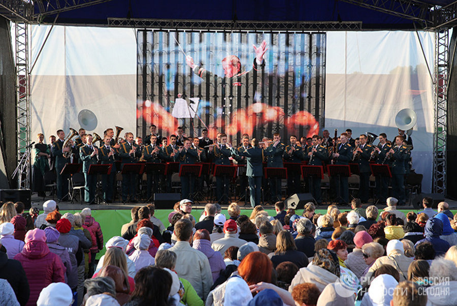 Концерт Центрального военного оркестра Минобороны РФ
