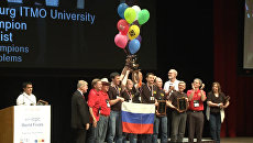 Команда ИТМО в седьмой раз завоевала чемпионский кубок ACM ICPC