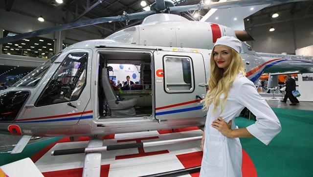 В России выпустят более тридцати санитарных вертолетов в 2018 году