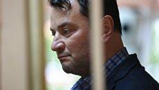 Бывший генеральный директор театральной труппы Седьмая студия Юрий Итин, задержанный после обысков в Гоголь-центре