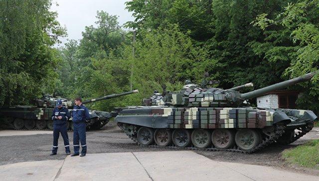 Военный эксперт: на Украине старый советский танк выдают за шедевр оборонки