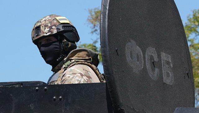 Сотрудник спецназа ФСБ России