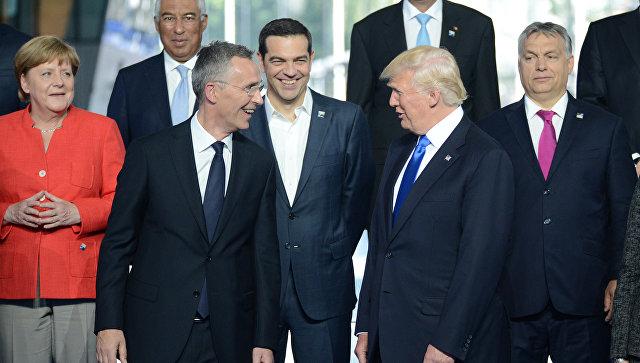 Белый дом назвал очевидной приверженность Трампа НАТО