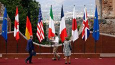 Подготовка к саммиту G7 в Италии. Архивное фото