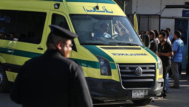Машина скорой помощи в Каире. Архивное фото