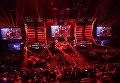 Финальный этап гранд-финала по World of Tanks между командами DiNG (Европа) и TORNADO ENERGY (СНГ) в комплексе ВТБ Ледовый дворец в Москве