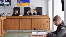Заседание Оболонского суда Киева по делу бывшего президента Украины Виктора Януковича. Архивное фото