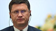 Министр энергетики РФ Александр Новак на Российско-испанском бизнес-форуме. Архивное фото