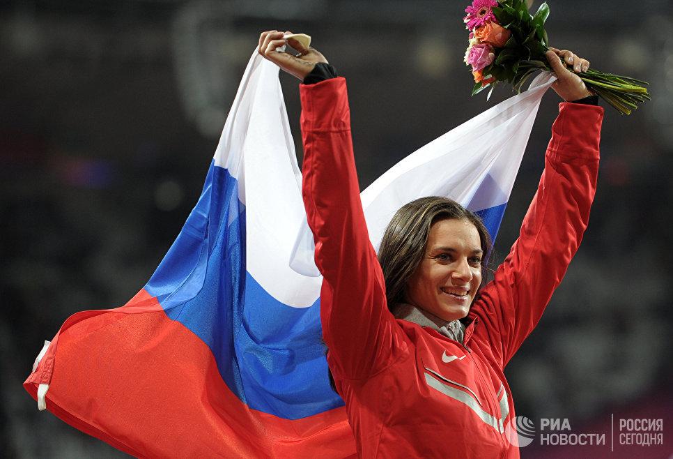 Елена Исинбаева впервые вывела всвет трехлетнюю дочь